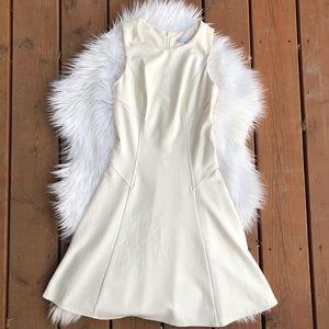[Amanda Uprichard] White Fit and Flare Dress - XS